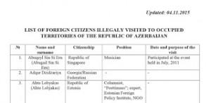 lista negra azeri