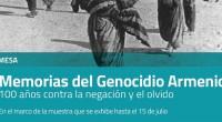 """En el marco de la muestra """"Memorias del Genocidio Armenio"""", realizada por el Centro Cultural de la Memoria Haroldo Conti con la colaboración de la Fundación Consejo Nacional Armenio para […]"""