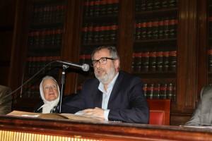 Nora Cortiñas y Pedro Mouratian