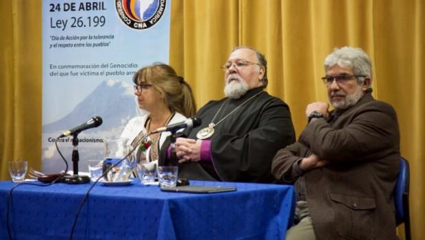 """La muestra Memoria Armenia Viva se presentó en la tarde del martes 18 de octubre con el panel """"La diáspora armenia en Argentina: Historias y representaciones""""integrado por los profesores Brisa […]"""