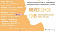 """El próximo jueves 23 de marzo a las 19 horas en la Asociación Cultural Armenia (Armenia 1366) se realizará un panel de debate titulado """"El desafío de la mujer hoy: […]"""