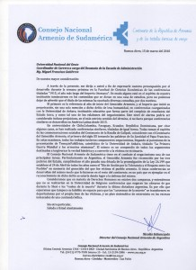Al señor Miguel Francisco Gutierrez
