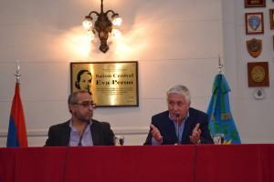 De izq. a der.: Kevork Dolmadjian y Darío Díaz Pérez