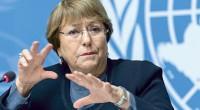 """Michelle Bachelet, Alta Comisionada de las Naciones Unidas para los Derechos Humanos,advirtióel 2 de noviembre sobre posibles crímenes de guerra en Artsaj (Nagorno Karabaj). """"Desde que el conflicto se reavivó […]"""