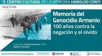 (Agencia Prensa Armenia)El viernes 24 de abril, día en que se conmemora simbólicamente el inicio del Genocidio Armenio, se inauguró una muestra de fotos «Memoria del Genocidio Armenio. 100 años […]