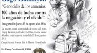El próximo jueves 13 de agosto a las 18 hs se inaugurará la muestra del artista plástico Gagik «Gago» Isahakyan,en el Sitio de la Memoria Virrey Cevallos (Virrey Cevallos 630, […]