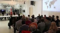 """El Municipio de Lanús, provincia de Buenos Aires, donde reside una fuerte comunidad armenia, inauguró el 26 de abril el ciclo """"Países y sus potenciales negocios con empresas de Lanús"""", […]"""