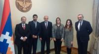 (Agencia Prensa Armenia) La diputada argentina Brenda Austin y el abogado uruguayo Oscar López Goldaracena se reunieron hoy con el presidente de Nagorno Karabaj, Bako Sahakyan, luego de participar como […]